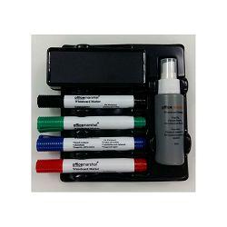 Set za bijelu ploču Datazone meh-0405a (4 markera, brisač, tekućina za ploču)