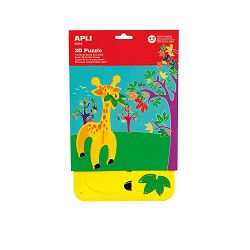 Puzle 3D Apli giraffe 13711