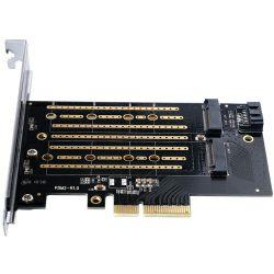 Orico M.2 NVME to PCI-E 3.0 x4, do 2TB×2 Single disk, Expansion Card (ORICO PDM2)
