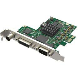 Magewell Pro capture AIO, FH PCIe x1, 1-channel HD/3GSDI, HDMI/DVI/VGA/YPbPr/CVBS/S-Vid, plus one unbalanced stereo audio, Windows/Linux/Mac (11020)