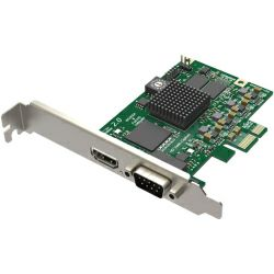 Magewell Pro capture HDMI, LP PCIe x1, 1-channel HDMI/S-Video/YPbPr/CVBS, plus 1 unbalanced stereo audio, Windows/Linux/Mac (11040)