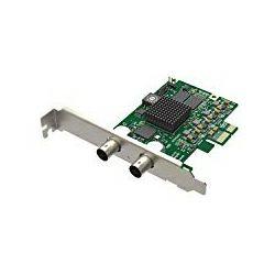 Magewell Pro capture SDI, LP PCIe x1, 1-channel SD/HD/3G/2K SDI, Single channel bypass loop, Windows/Linux/Mac (11050)