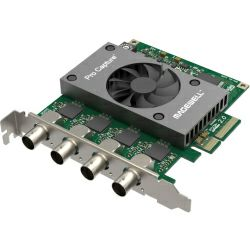 Magewell Pro capture quad SDI, FH PCIe x4, 4-channel SD/HD/3G/2K SDI, Windows/Linux/Mac (11090)