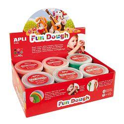 Masa za modeliranje Apli display fun dough 40g 12/1 13451