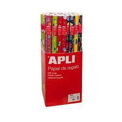 Ukrasni papir Apli 0,70mx2m dječji motivi u roli 14002