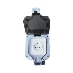 WOOX WiFi Smart vanjska utičnica, 230VAC 16A 3680W, vodootporna IP66, WooxHome app, glasovna kontrola - Alexa & Google Assistant (R4052)