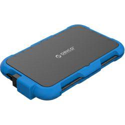 """Orico vanjsko kućište 2.5"""" SATA HDD, USB3.0, silikonsko kučište, plavo (ORICO 2739U3-BL)"""