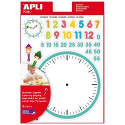 Naljepnice Apli stikers sat 3L 12789