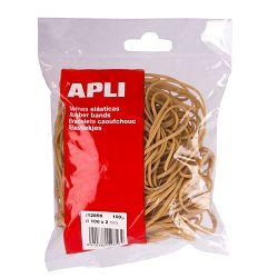 Gumene vezice Apli 100x2mm 100g 12856