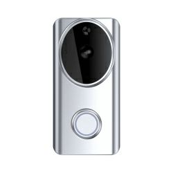 WOOX WiFi Smart zvono za vrata sa kamerom, 1280×720p, dvosmjerni audio, IR, microSD, Nightvision, WooxHome app, glasovna kontrola - Alexa & Google Assistant (R4957)