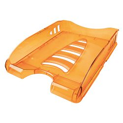 Ladica za spise Arda sunrise transparent narančasta TR75510AR