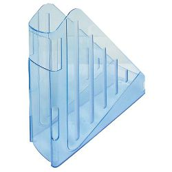 Stalak za spise okomiti Arda transparent plavi Arda  TR4118BL