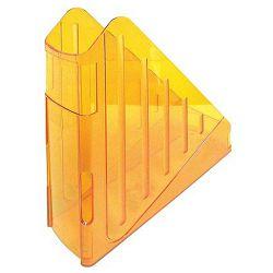 Stalak za spise okomiti Arda transparent narančasti Arda TR4118AR