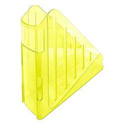 Stalak za spise okomiti Arda transparent žuti Arda TR4118G