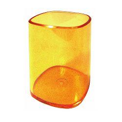 Čaša za olovke Arda transparent narančasta TR4111AR
