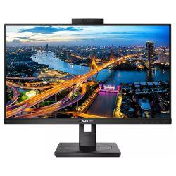 """Philips 24"""" 242B1H/00 (23.8"""") 16:9 Full HD (1920×1080) IPS, 75Hz, 4ms, VGA/DVI-D/DP/HDMI, Web kamera, USB3.0×1/USB3.2×3, Pivot, zvučnici, crni"""