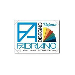 Blok Fabriano tiziano tamni  24x33 160g 12L 66122433