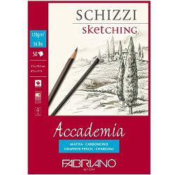 Blok Fabriano accademia A4 120g 50L 41122129