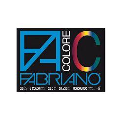 Blok Fabriano colore 33x48 220g 25L 65251533