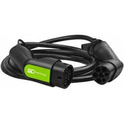 Green Cell (EV07) kabel Tip 2, 22 kW za punjenje električnih vozila 5m