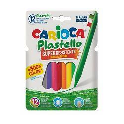 Pastele Carioca plastello round box 12 boja 42711
