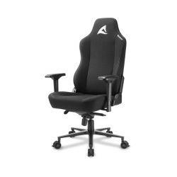 Sharkoon Skiller SGS40 igraća stolica, čvrsta tkanina, crna