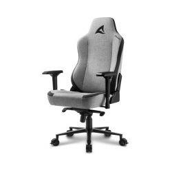 Sharkoon Skiller SGS40 igraća stolica, čvrsta tkanina, crno/siva