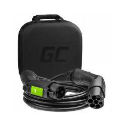 Green Cell (EV18) kabel Tip 2, 22 kW za punjenje električnih vozila 5 m