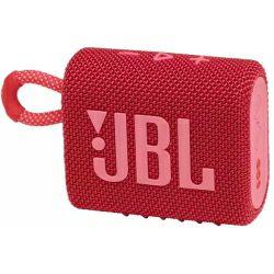 JBL Go 3 prijenosni zvučnik BT5.1, vodootporan IP67, crveni