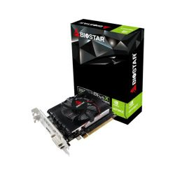 Biostar GeForce GT1030 2GB GDDR5/64-bit, PCIe 3.0, DVI/HDMI, Fan