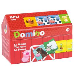 Domino Apli little house farm 16493