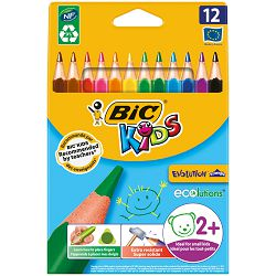 Bojice Bic kids evolution triangle 12 boja 12/1 8297356