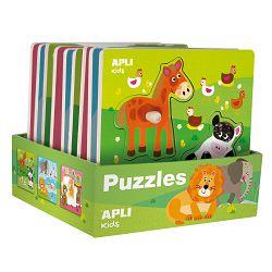 Displej puzle Apli drvene životinje 15178