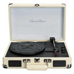 Gramofon retro dizajn u koferu, bluetooth