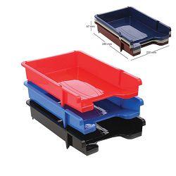 Ladica za spise Ark PVC crvena 460