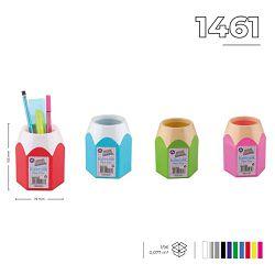 Čaša za olovke Ark PVC roza 1461