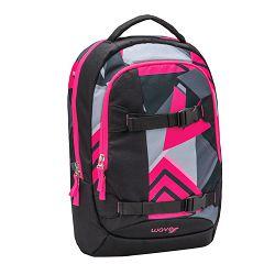 Ruksak Wave air sport neon pink triangle #338-65/A/11