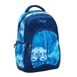 Ruksak Wave spirit blue marble #338-64/9