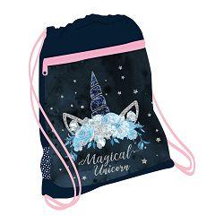 Vrećica za papuče Belmil leisure blue magical Unicorn #336-91/10