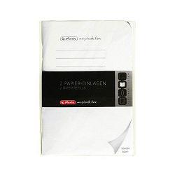 Listovi uložni A6 2 kom 40 listova My.book Flex čisto Herlitz
