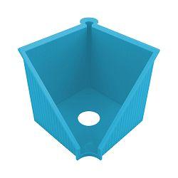 Kocka za papir PVC 10x10 cm, GREENline, Helitz, plava