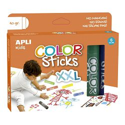 Boja tempera u sticku Apli color sticks xxl 40g 6/1 17538