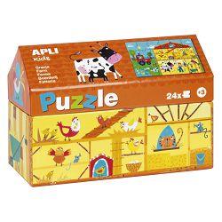 Puzle Apli little house farm 24/1 17354