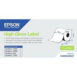 Rola Epson high gloss label 76mmx33m C33S045537