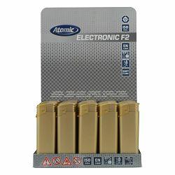 Promo upaljač Atomic elektronski zlatni 3670110