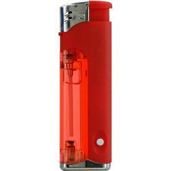 Promo upaljač Atomic svjetleći elektronski crveni 3736004