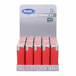 Promo upaljač Atomic elektronski crveni 3622400