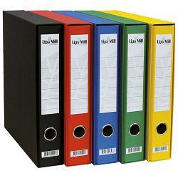 Registrator Lipa mill A4 uski crveni 02400 u kutiji