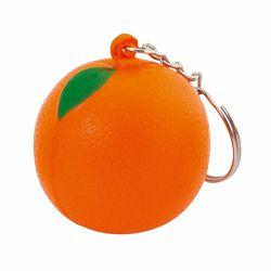 Promo privjesak za ključeve Fruty naranča antistres m439707