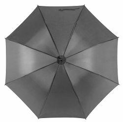 Promo kišobran Santy drveno tijelo i drška sivi m921508